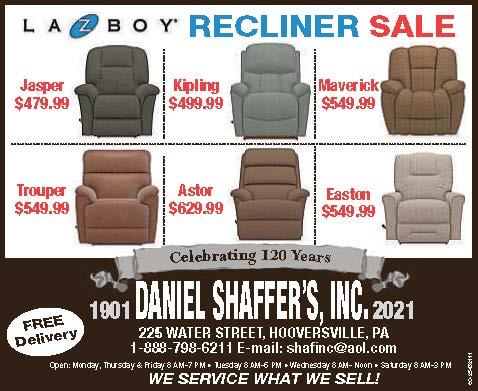Daniels Shaffer's Inc
